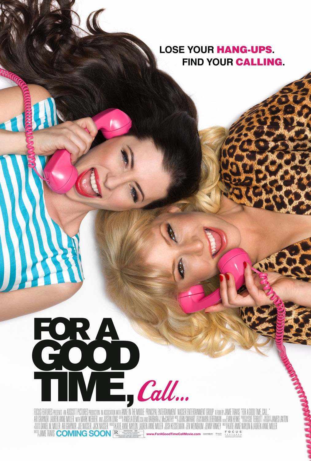Постер - For a Good Time, Call...: 1013x1500 / 328 Кб
